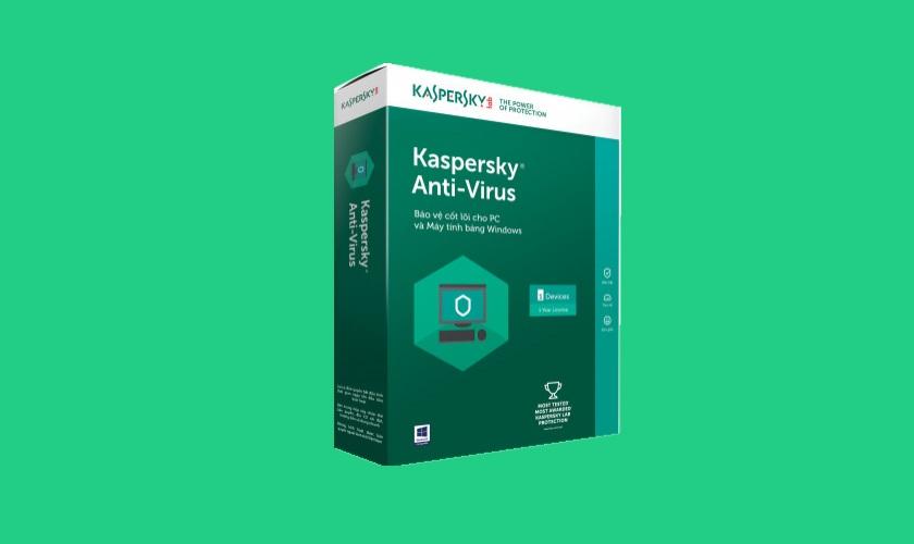 Kaspersky AntiVirus 1 máy/2 năm bản quyền